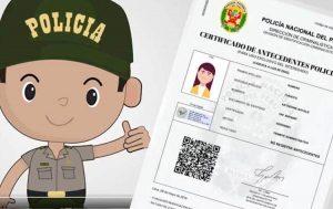 Modelo de Solicitud de Certificado de Antecedentes Policiales REJAP
