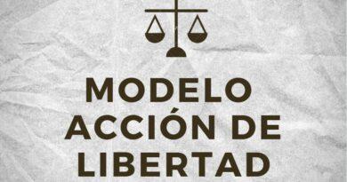 Modelo de Accion de Libertad Caso Transporte de Sustancias Controladas
